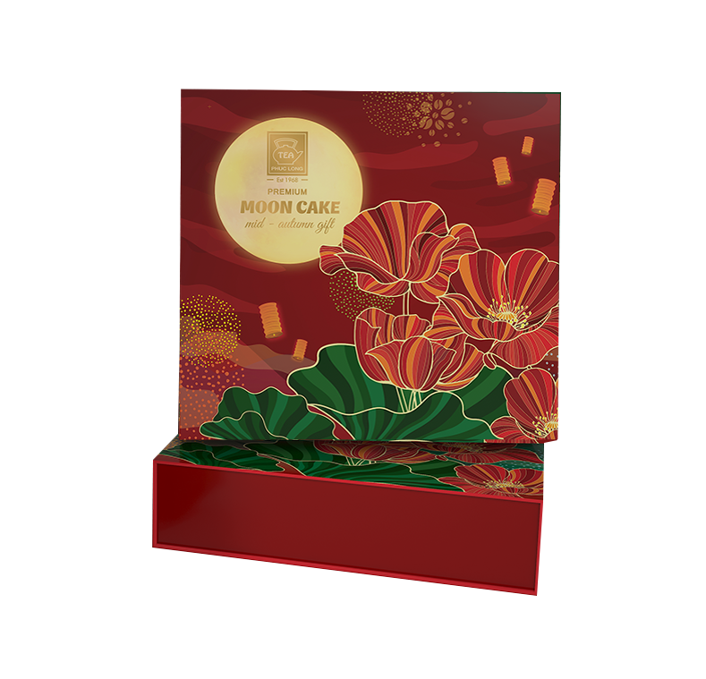 Two mooncake gift box