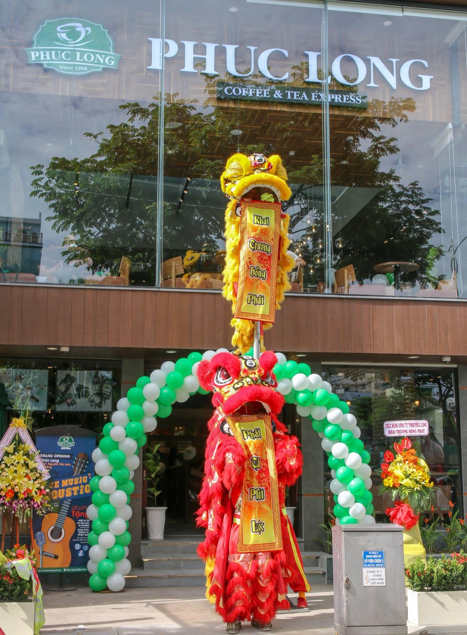 Grand opening Phuc Long Nguyen Van Linh - Da Nang city