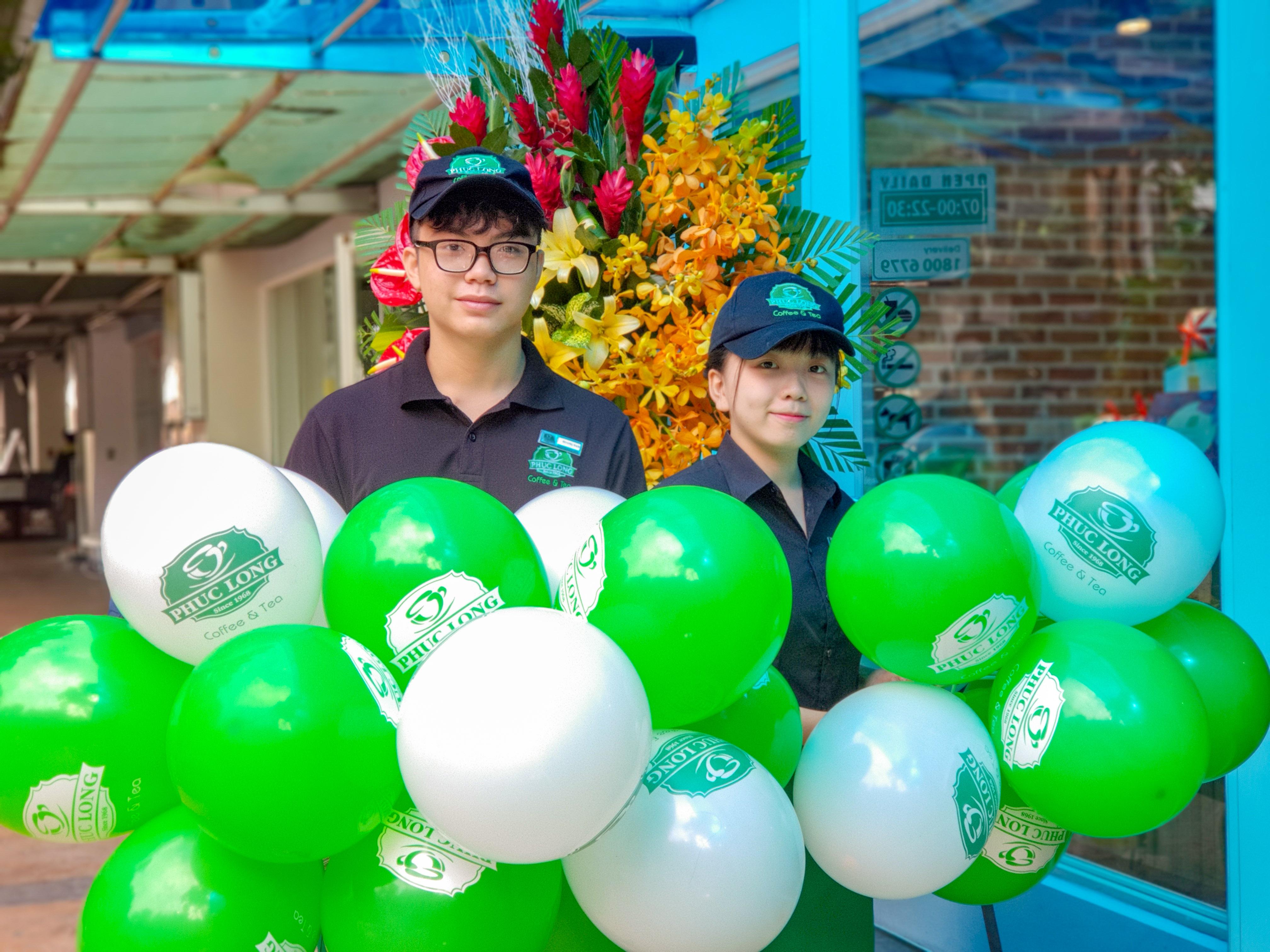 Grand opening Phuc Long Sky Garden