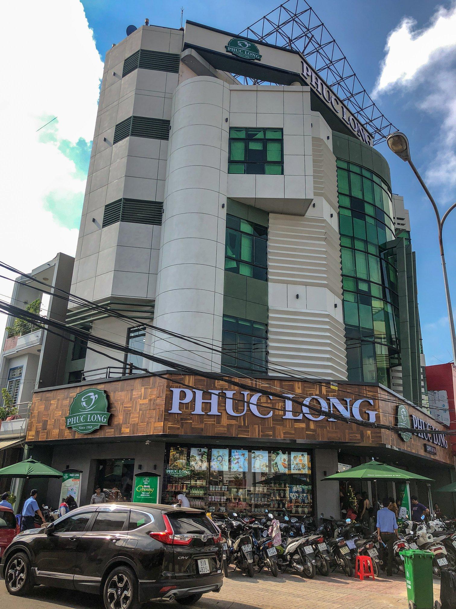 Grand opening Phuc Long Nguyen Dinh Chieu - Binh Duong province