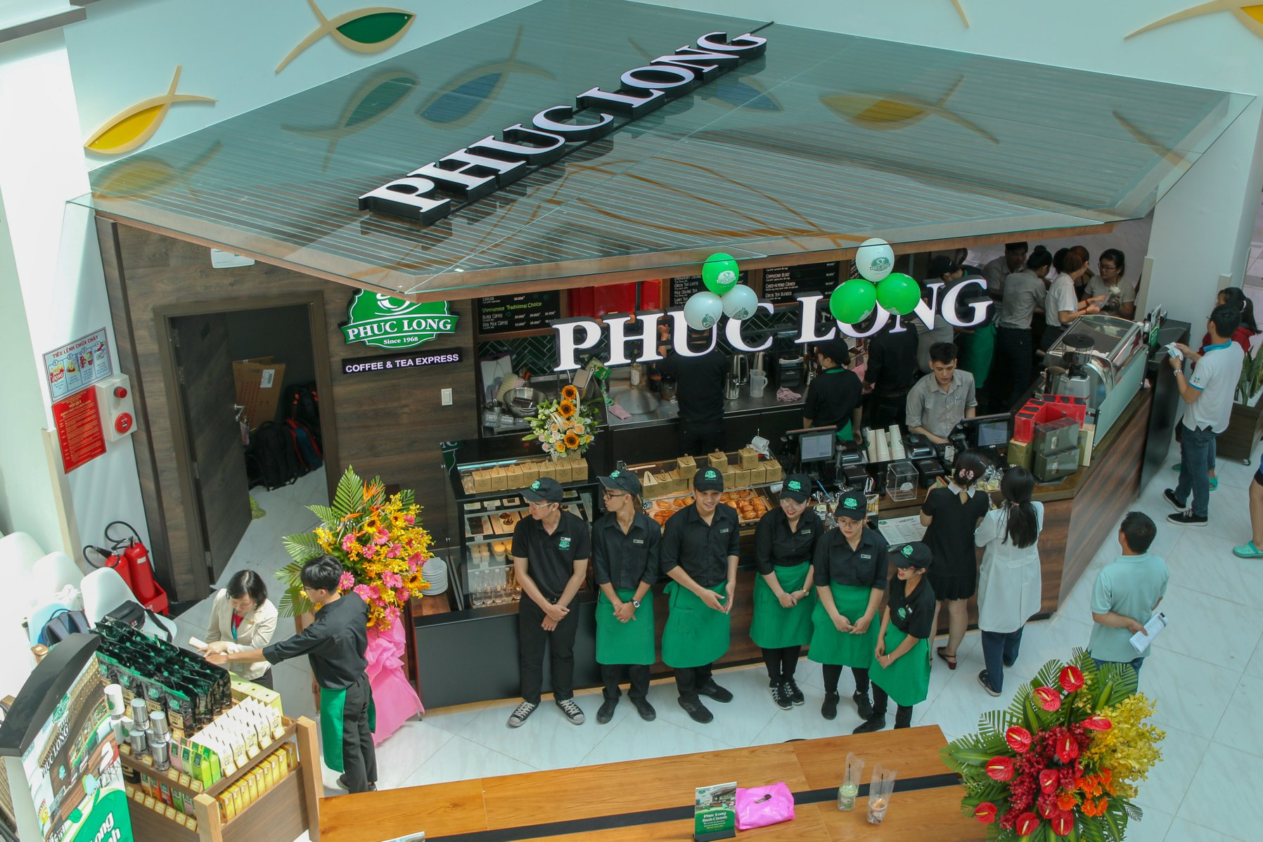 Grand opening Phuc Long - City Children's Hospital