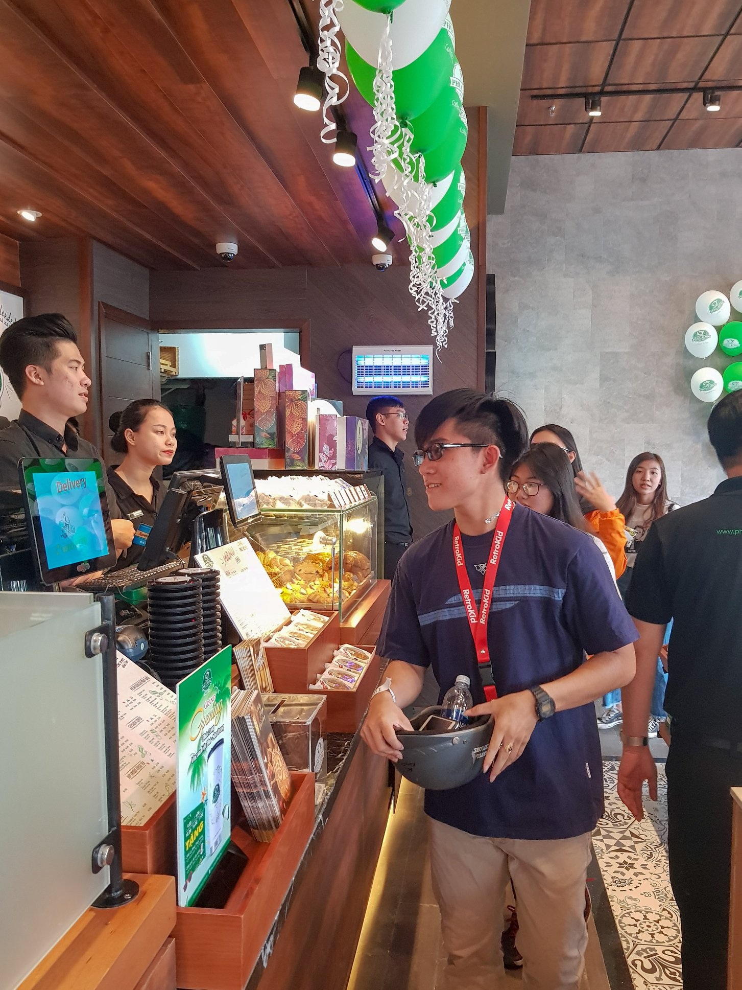 Grand opening Phuc Long - Vincom Tran Phu - Nha Trang
